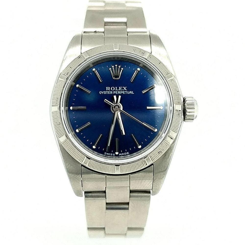 LADIES ROLEX STAINLESS OYSTER PERPETUAL WATCH