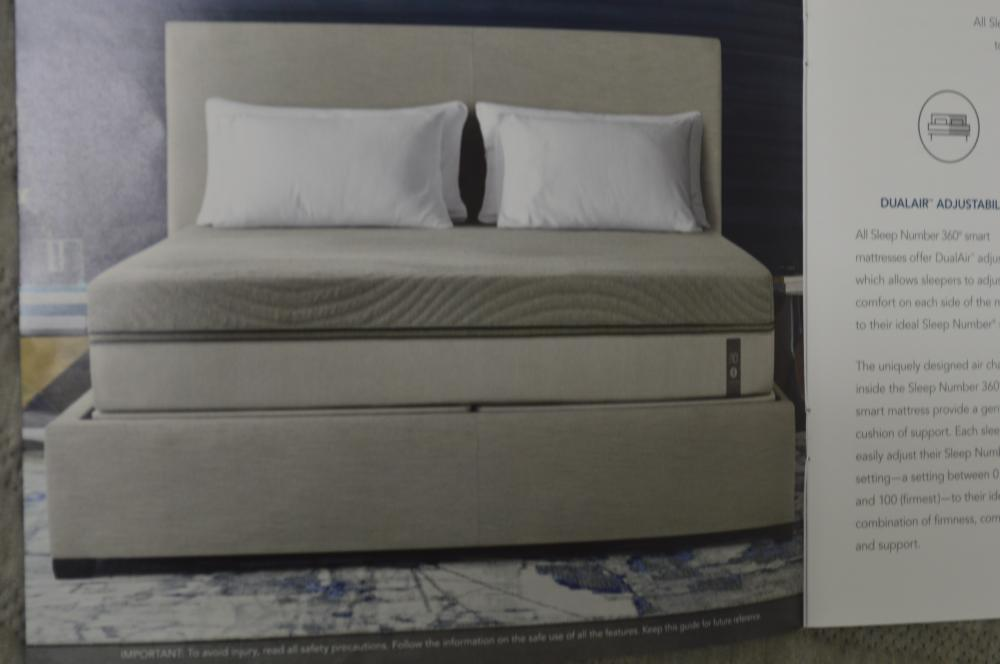 FULL SIZE SLEEP NUMBER 360 BED LIKE NEW CONDITION