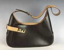 Ferragamo Two Tone Handbag
