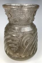 Art Deco Daum Nancy Acid Cut Vase C. 1925