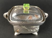 Important Tiffany & Co. Mixed Metal Sugar Bowl