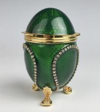 Vivian Alexander Egg Jewelry Box
