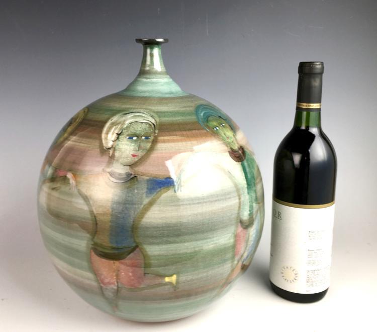 Massive Polia Pillin Vase
