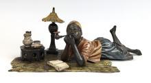 Bergman Vienna Bronze Blackamoor C. 1900