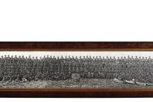 Panoramic photograph of 6th Training Battalion AIF, 1918