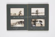 With the Australian Rough-Riders in Egypt (Light Horse photograph album)