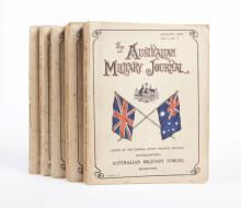 The Australian Military Journal (last five issues, 1915-16)