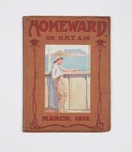 HMAT Euripides: Homeward on HMT [sic] A14. March, 1918 (1918)