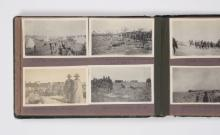 Album of 172 photographs compiled by Pte Claude Jarmain in the Middle East