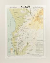 Map: Anzac (Sydney, 1916)