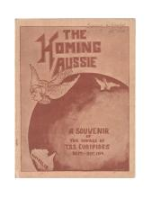 TSS Euripides: The Homing Aussie (1919; signed by Jacka VC and Ryan VC)