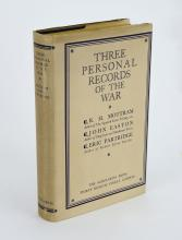MOTTRAM: Three Personal Records of the War (1929)