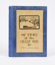 WOODWARD: My Story of the Great War (1932, signed)