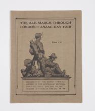 The AIF March through London on Anzac Day 1919