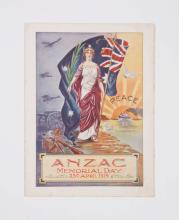 Anzac Memorial Day 25th April 1919 (Melbourne 1919)