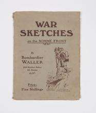 WALLER: War Sketches on the Somme Front (1918)