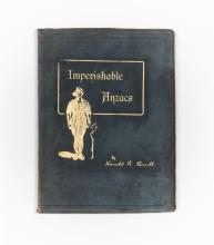 [2nd Battalion] CAVILL: Imperishable ANZACS (leather-bound copy de luxe)