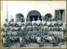 Photograph of 22nd Battalion AIF Machine Gun Section (Cairo, 1916)