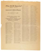 The Age Special … Australia's Roll of Honor. 17th Casualty List [17 May 1915]