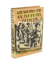 SASSOON: Memoirs of an Infantry Officer (1931, signed limited edition)