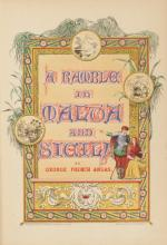 ANGAS, George French: A Ramble in Malta and Sicily (1842)