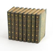 The Works of Edgar Allan Poe (1895; eight volumes in half morocco)