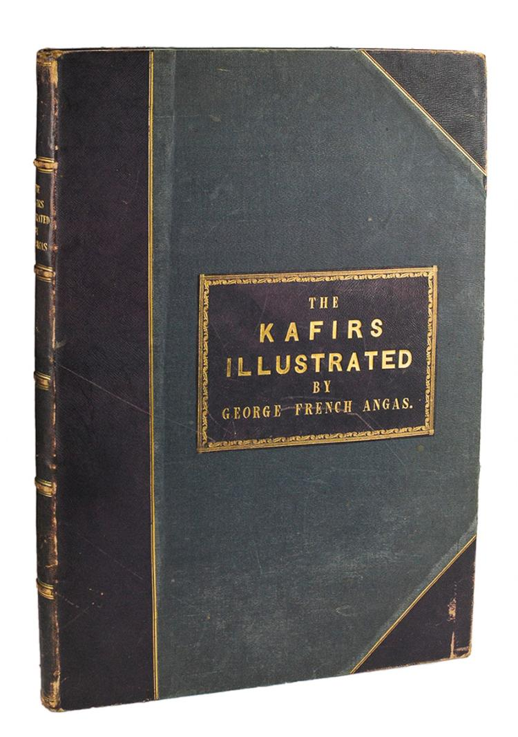 ANGAS, George French: The Kafirs Illustrated (1849)