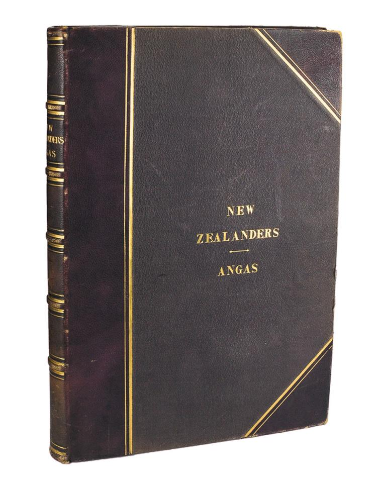 ANGAS, George French: The New Zealanders Illustrated (1847)