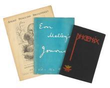 Angry Penguins Broadsheet + Ern Malley's Journal + Phoenix 1938