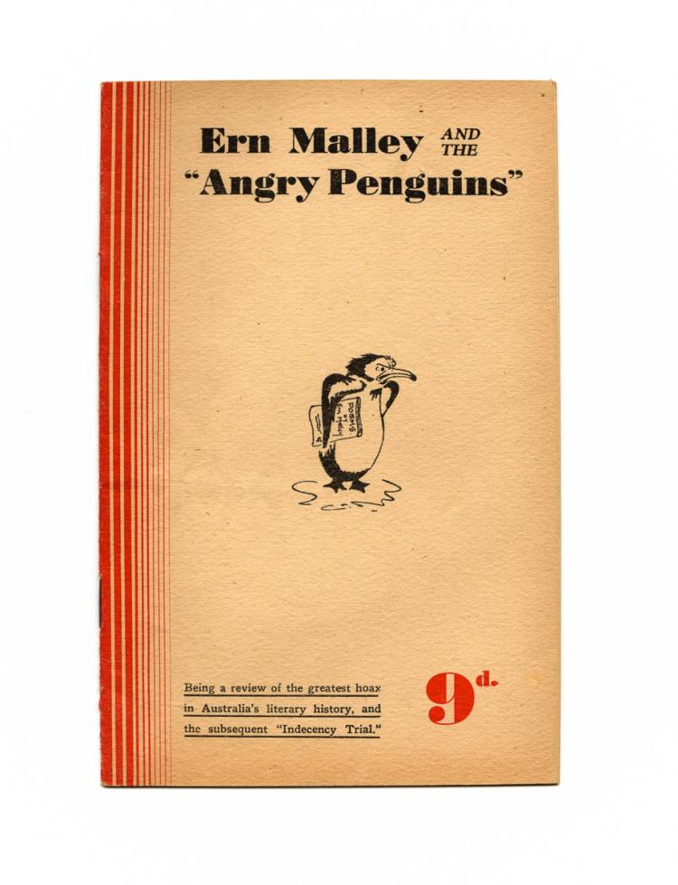 Ern Malley and the 'Angry Penguins' [1945]