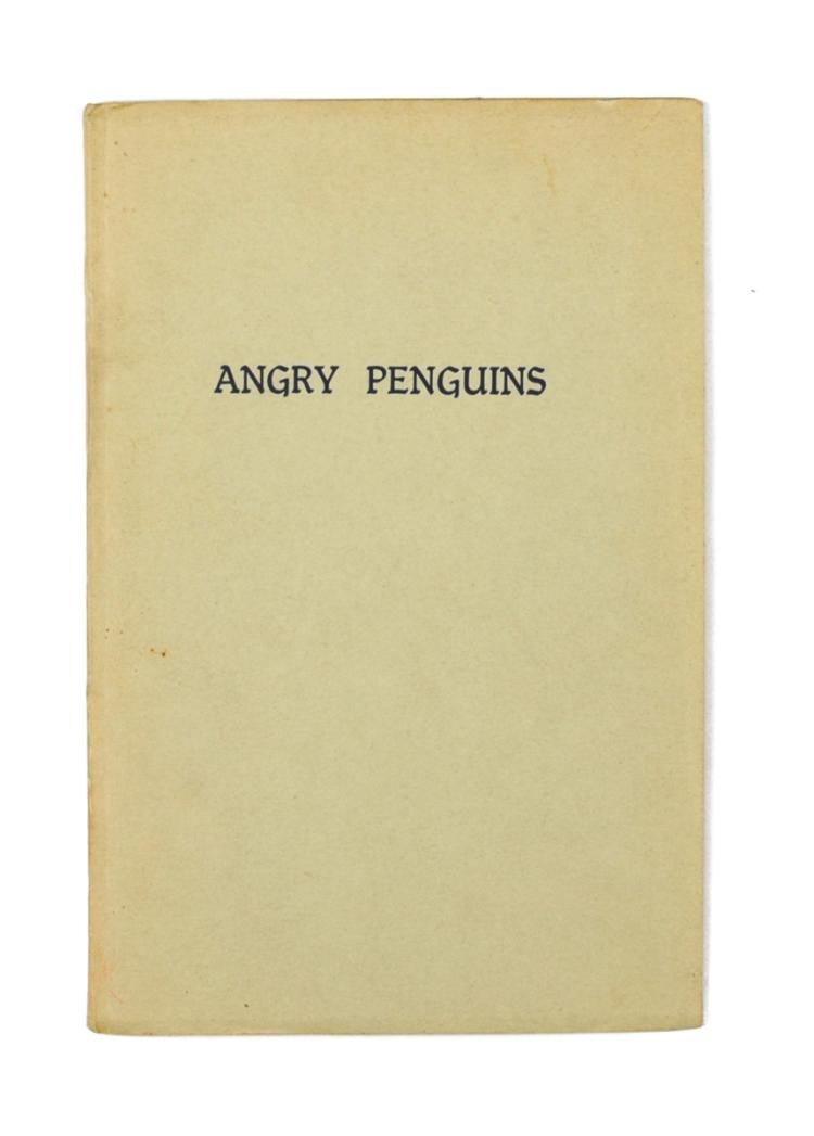 Angry Penguins #1 (1940, signed by Max Harris)