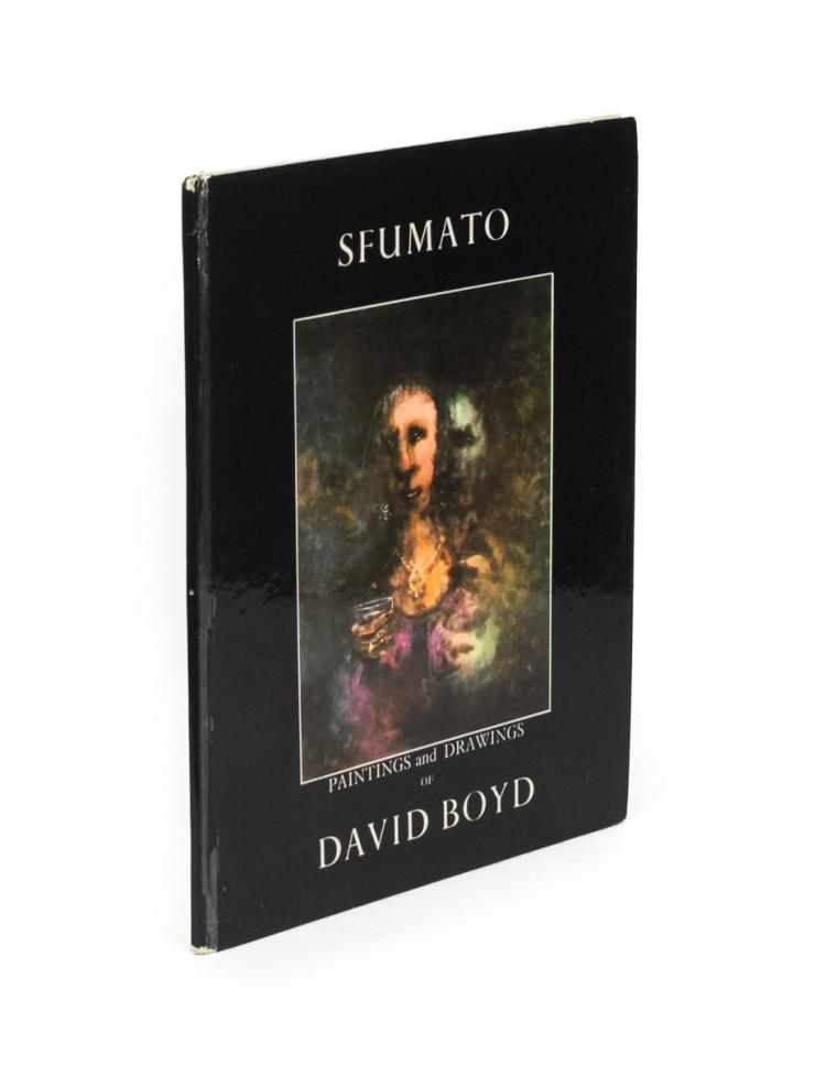 BOYD, David: Sfumato. Paintings and Drawings of David Boyd (1967, signed)