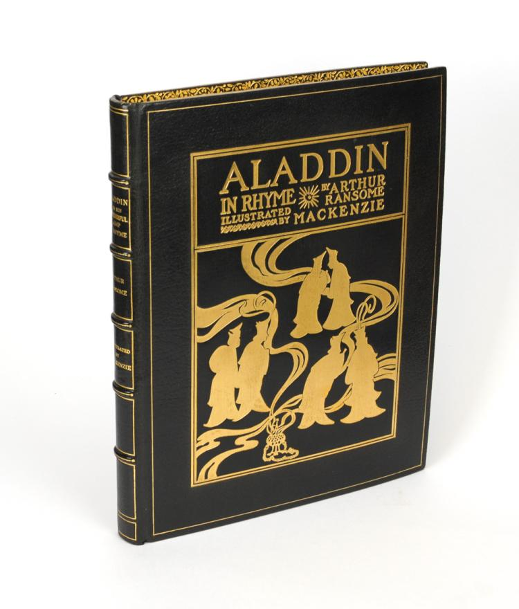 RANSOME: Aladdin and his Wonderful Lamp ... Illustrated by Mackenzie (1919)