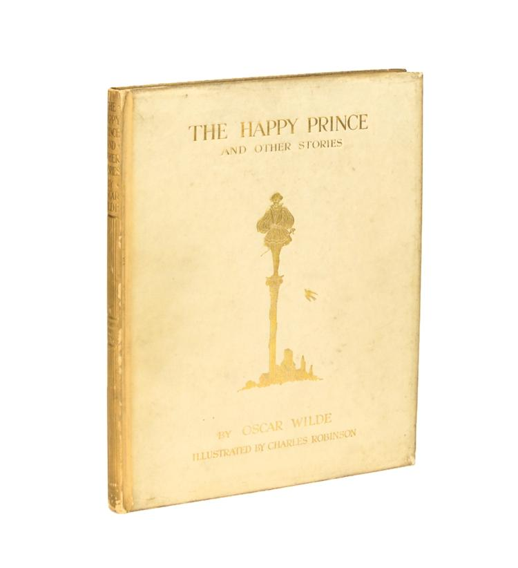 WILDE, Oscar: The Happy Prince ... Illustrated by Charles Robinson (1913)