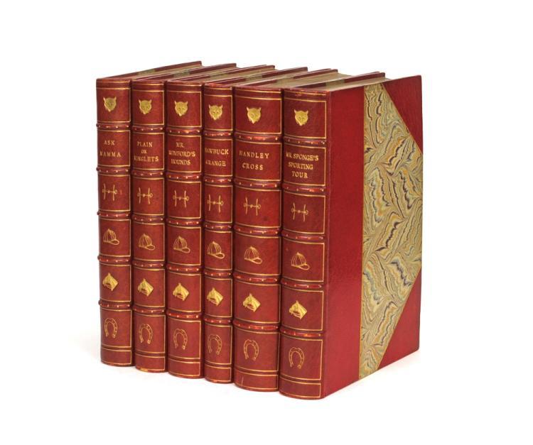 SURTEES, Robert: Six volumes in fine Bumpus bindings