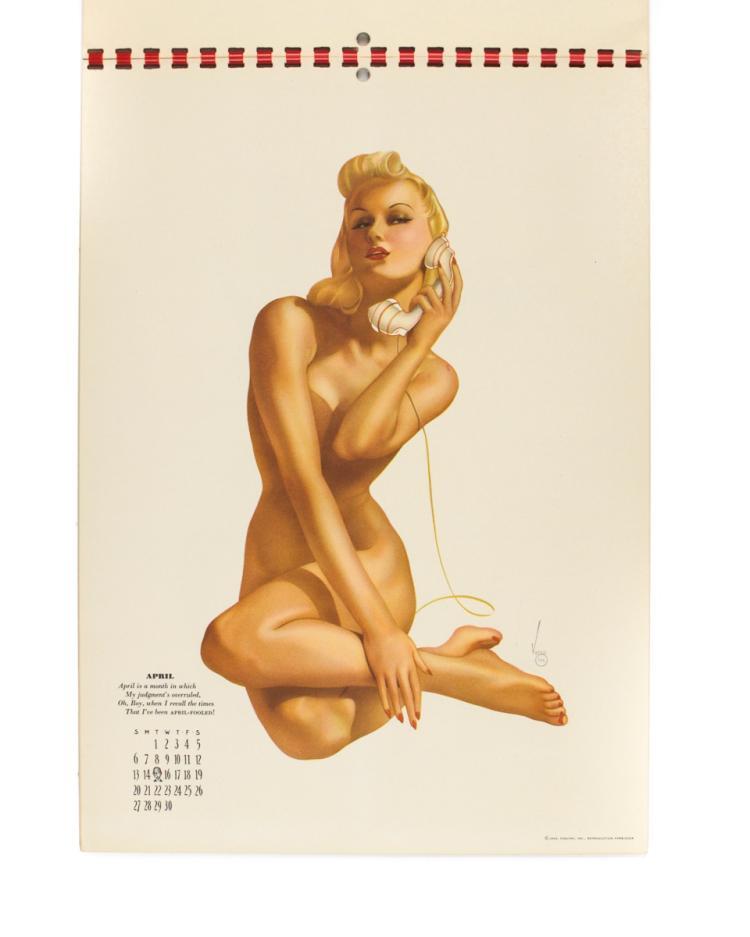 VARGA, Alberto: The Esquire Calendar for 1941 (1940)
