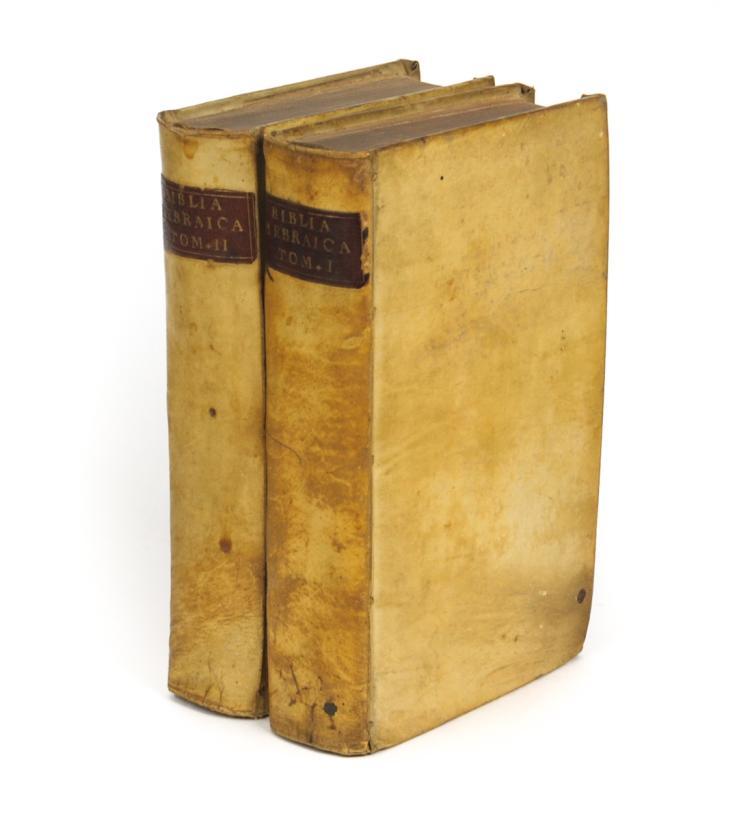 Biblia Hebraica (Hebrew Bible, 1705)