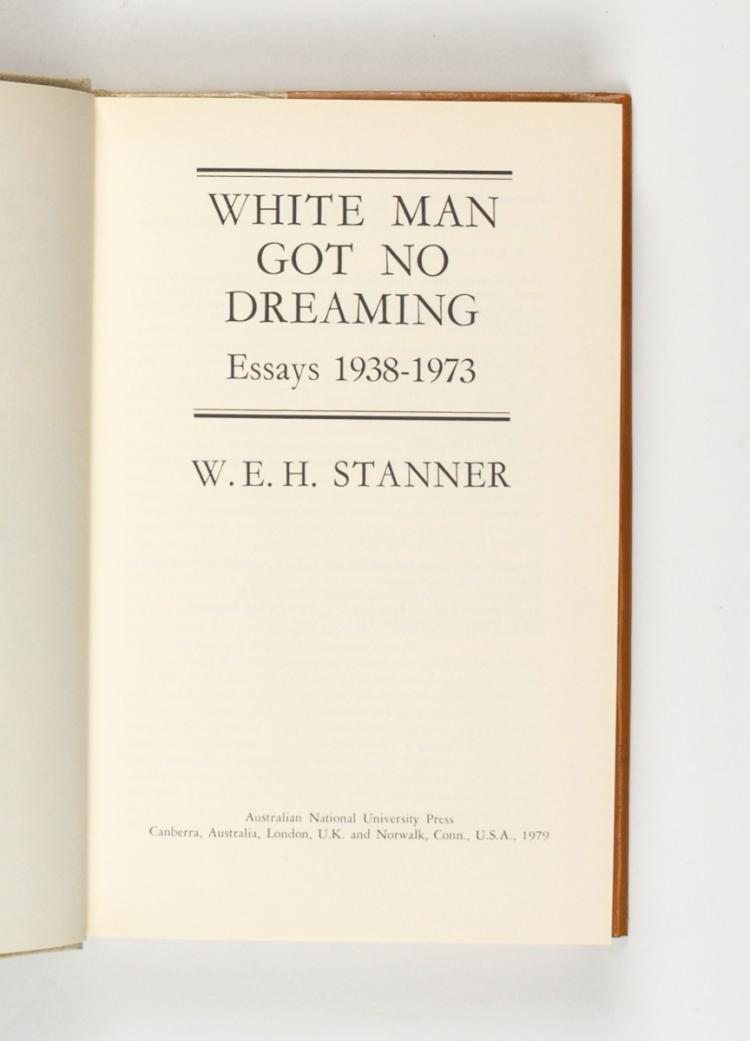 w.e.h stanner the dreaming and other essays In recent years the work of australian anthropologist w e h stanner has enjoyed something of a revival the dreaming and other essays 2 —essentially a.