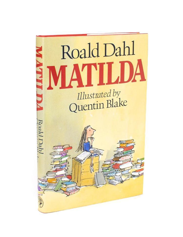 DAHL, Roald: Matilda (signed sixth impression)