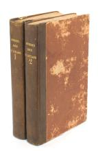 HOOKER: Journal of a Tour in Iceland (ex libris J.D. HOOKER, COLENSO & MAWSON)