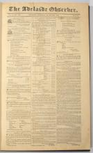 [Ludwig LEICHHARDT]: The Adelaide Observer. 52 issues, 1846