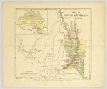 Map. Part of South Australia [1849]