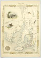 Map. TALLIS: Part of South Australia [1851]