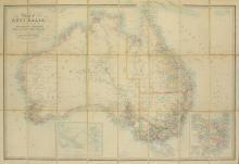 Map. WYLD: Map of Australia (c. 1878)