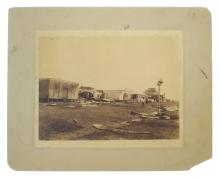 Three photographs of Darwin after 1896 cyclone by BLEESER