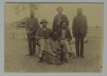 Photograph of Spencer and Gillen Expedition, 1901-02