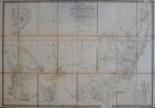 Map. WYLD: Map of South Australia, New South Wales, Van Diemen's Land (c. 1847-48)