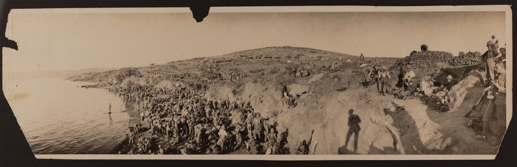 Gallipoli - unrecorded panoramic photos