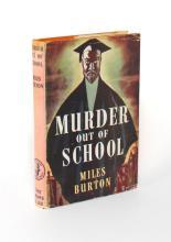 BURTON: Murder Out of School (1st Ed)