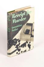 BUTLER: Receipt for Murder (1st Ed)